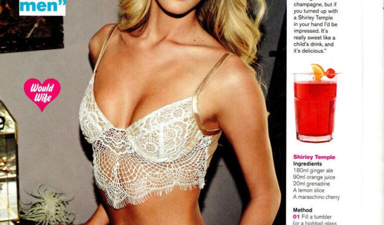 Bryana Holly Fhm Magazine April 2014 Issue (5 photos)