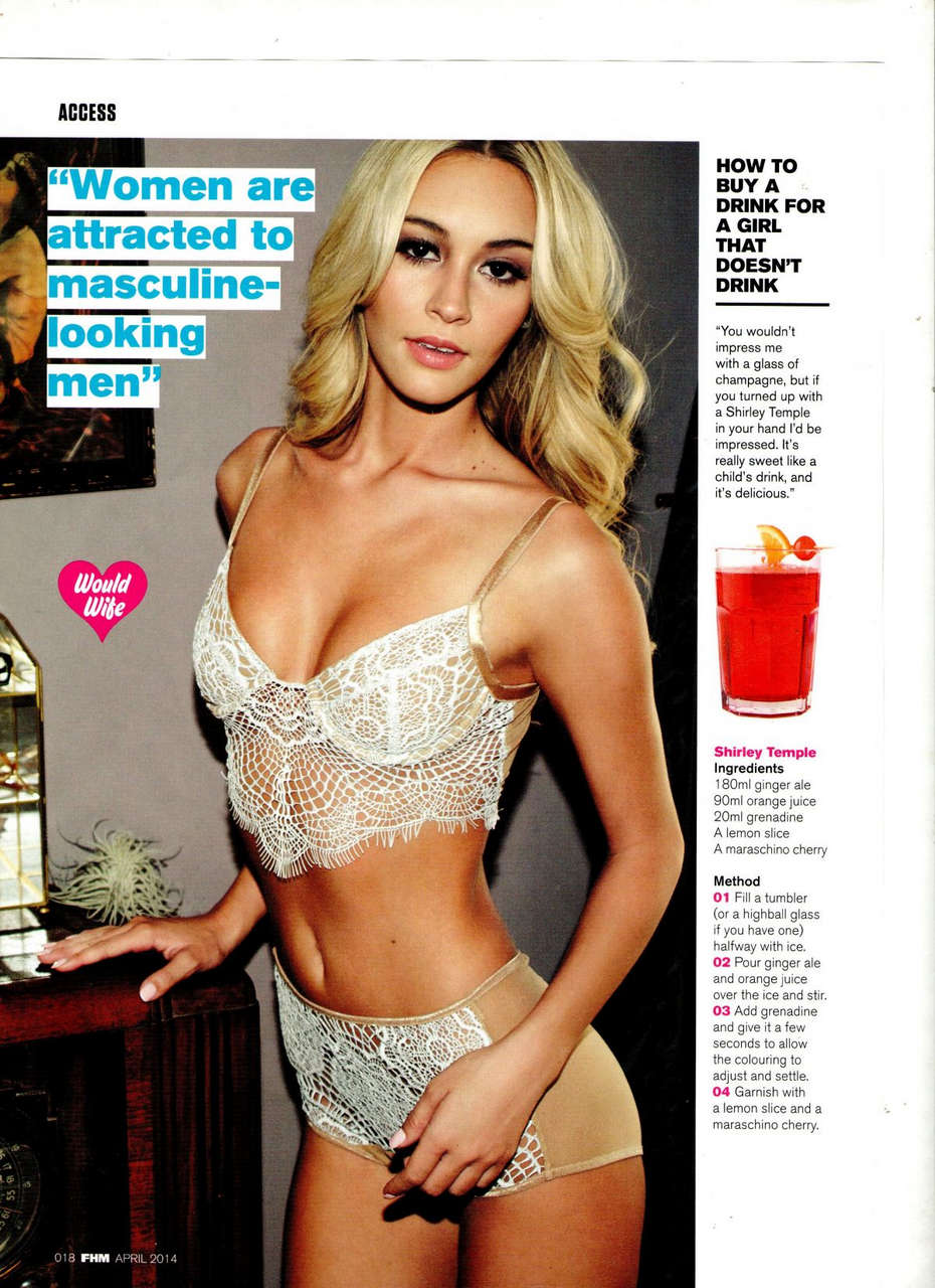 Bryana Holly Fhm Magazine April 2014 Issue