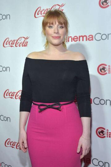 Bryce Dallas Howard Cinemacon Big Acreen Achievement Awards Las Vegas