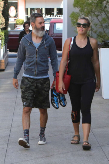 Busy Philipps Heading To Gym Los Angeles