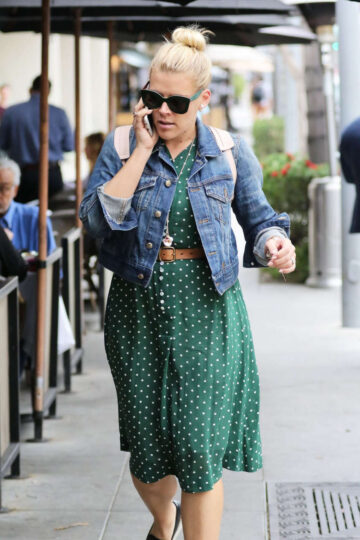Busy Philipps Out For Lunch La Scala Beverly Hills