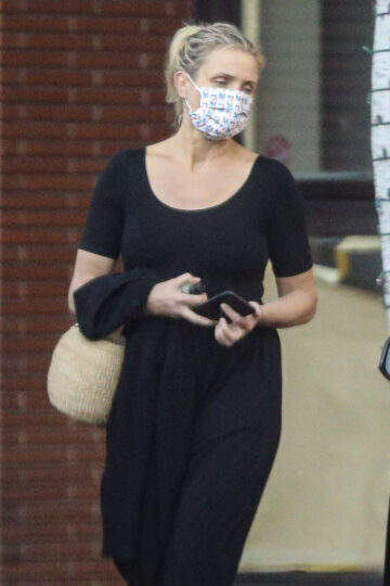Cameron Diaz Leaves Her Physical Therapist Beverly Hills