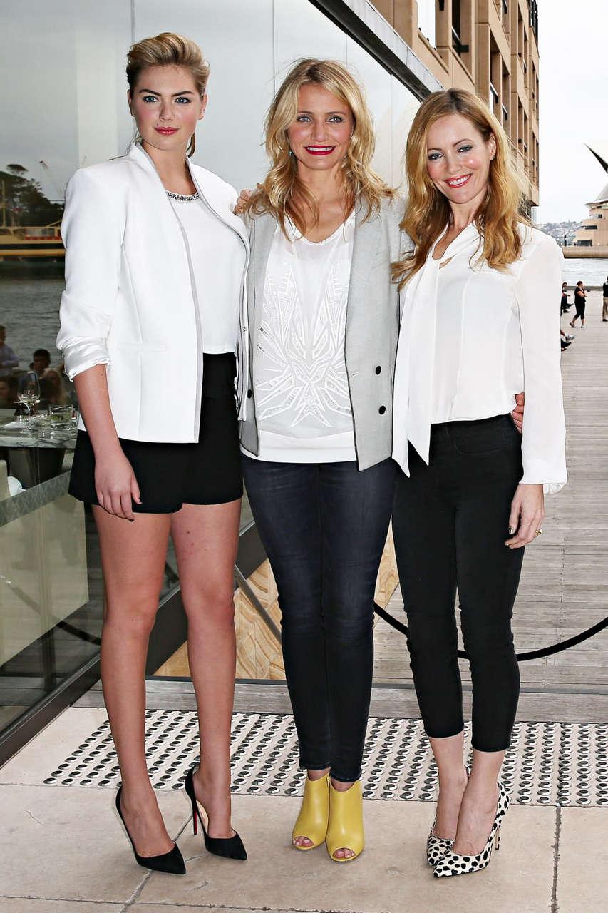 Cameron Diaz Leslie Mann Kate Upton Other Woman Photocall Sydney