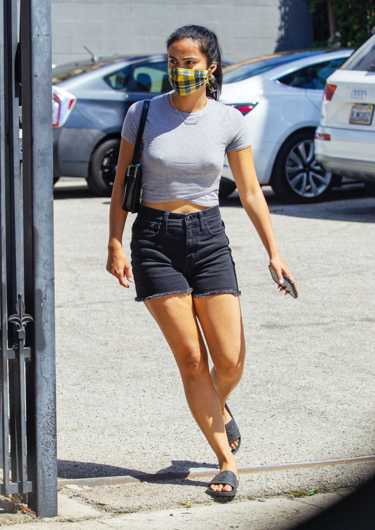 Camila Mendes Heading To Medical Clinic West Hollywood