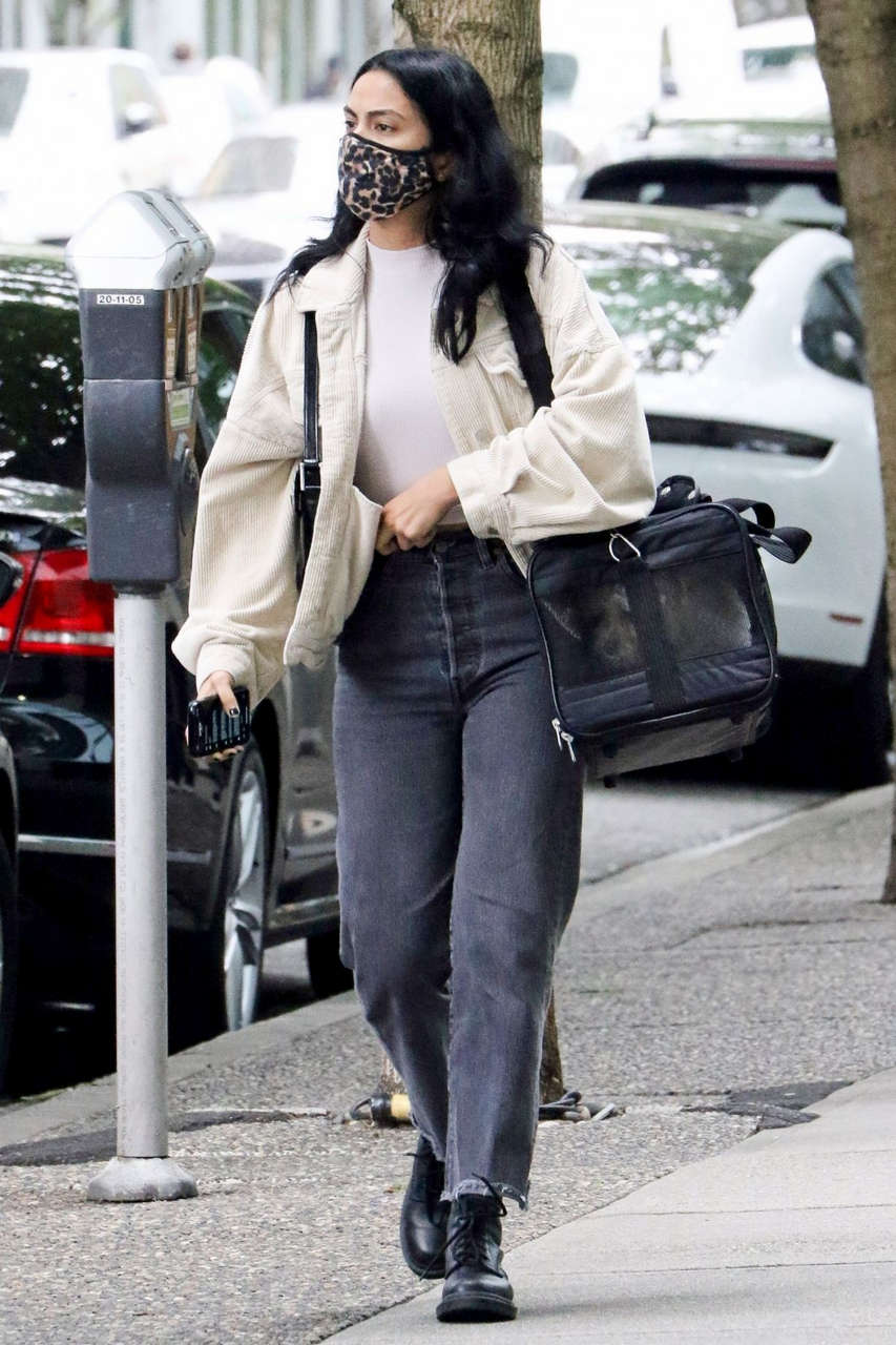Camila Mendes Out About Vancouver