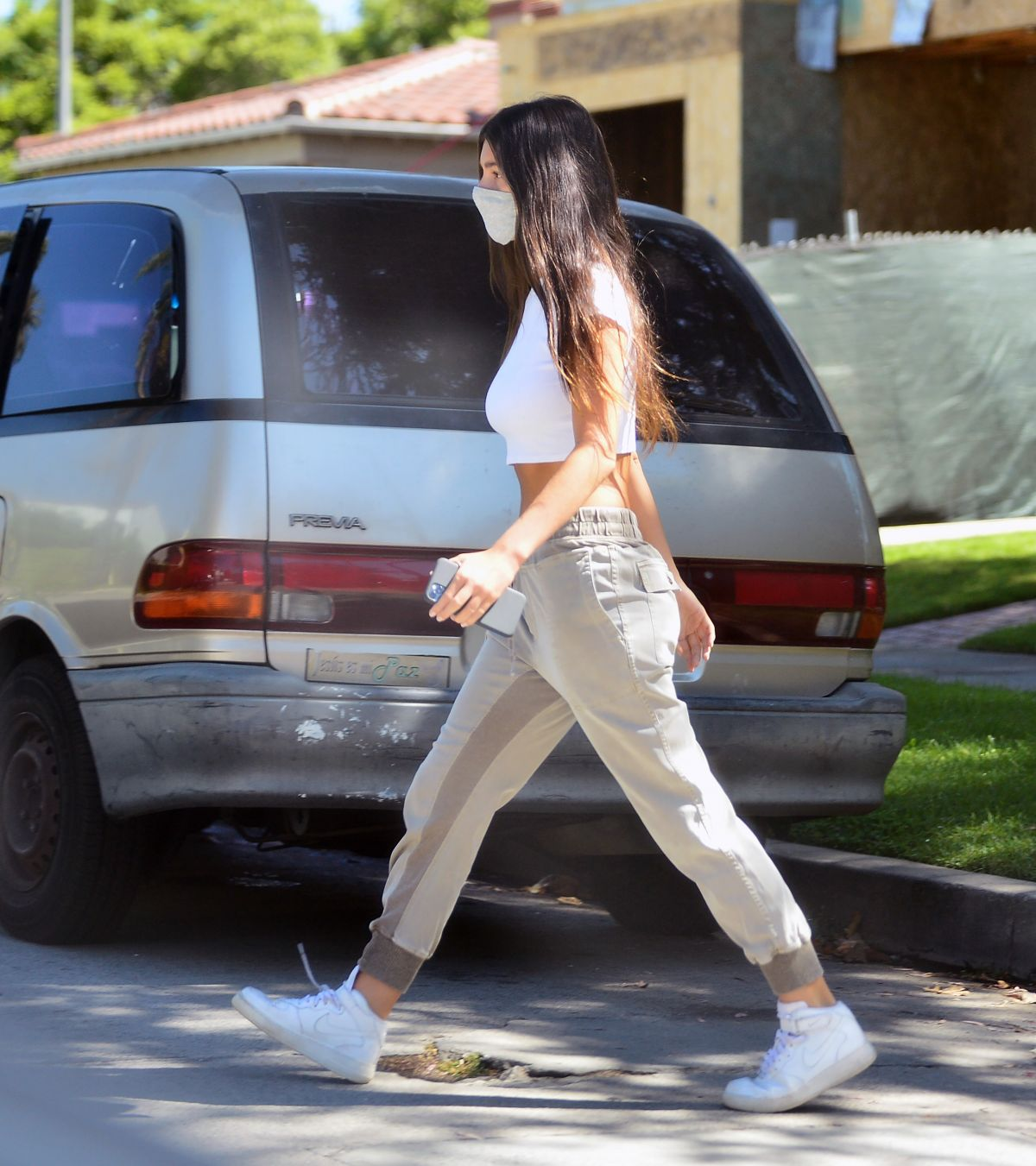 Camila Morrone Out About Beverly Hills