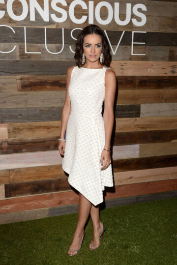 Camilla Belle H M Conscious Collection Dinner West Hollywood