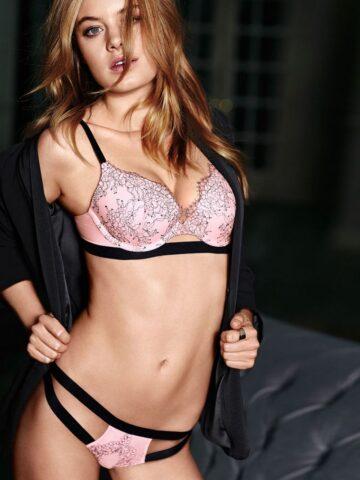 Camille Rowe Victorias Secret July