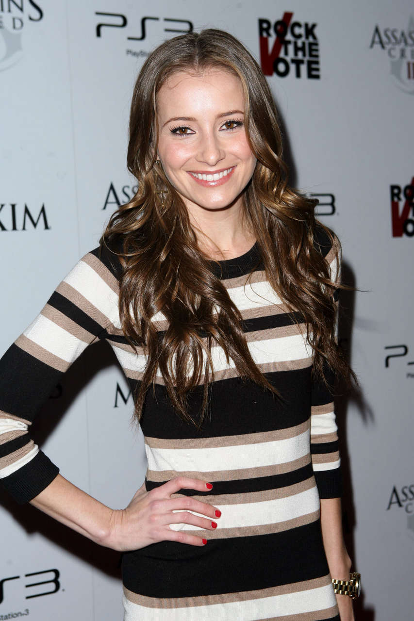 Candace Bailey Maxim Rock Vote Assassin S Creed 3 Party Los Angeles