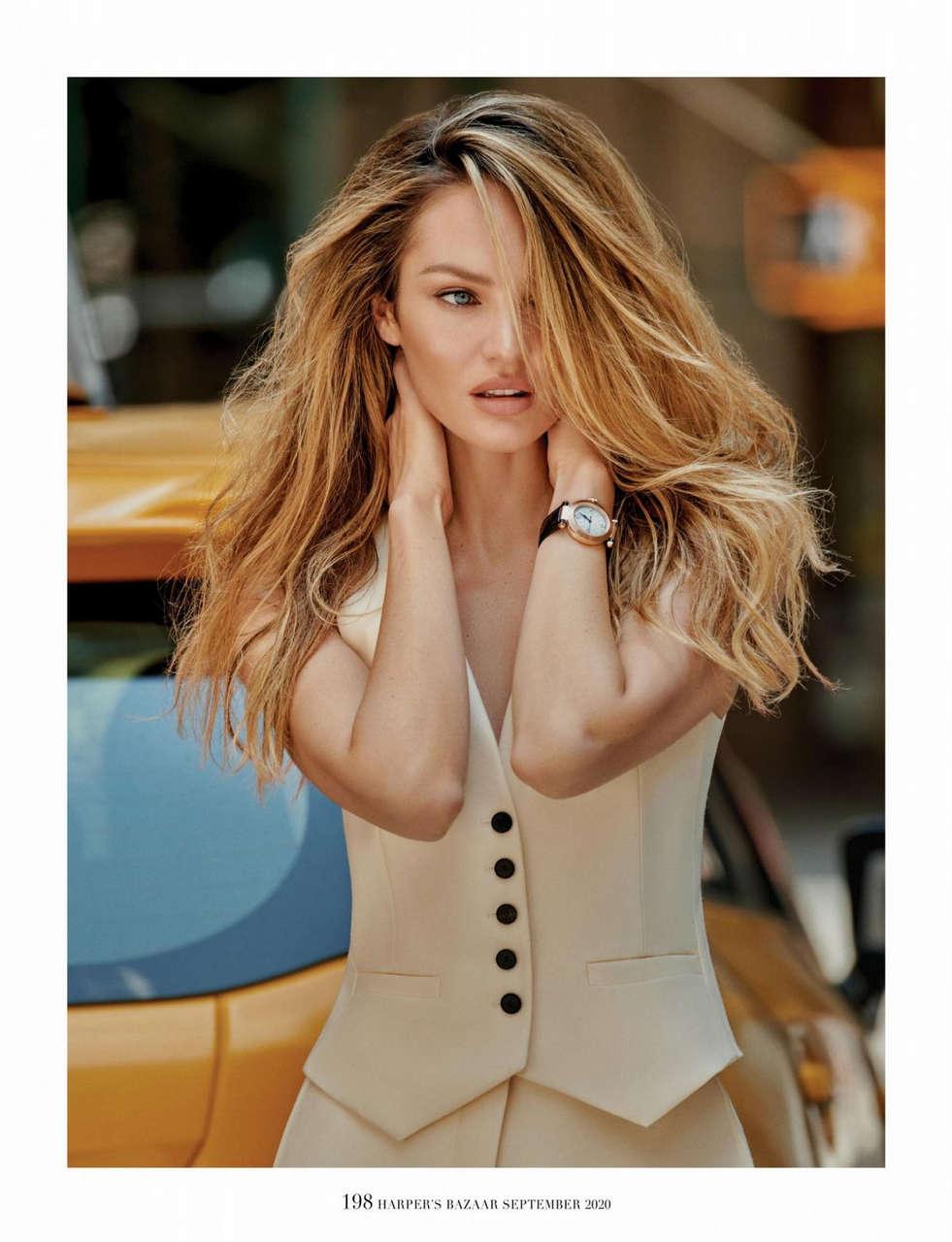 Candice Swanepoel Harpers Bazaar Magazine Singapore September