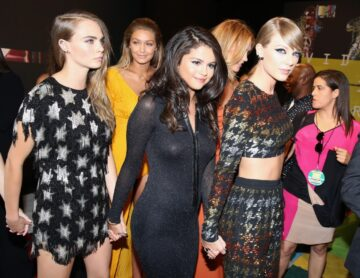 Cara Delevingne Selena Gomez And Taylor Swift