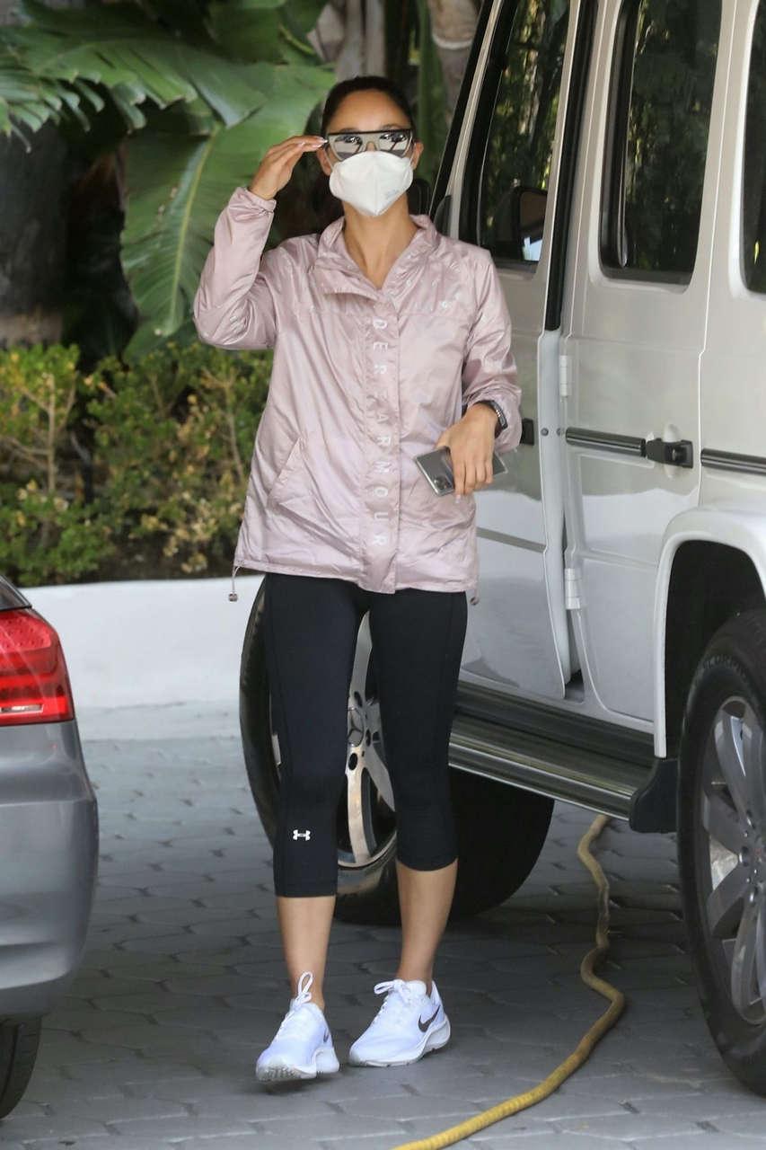 Cara Santana Arrives Argyle Hotel West Hollywood