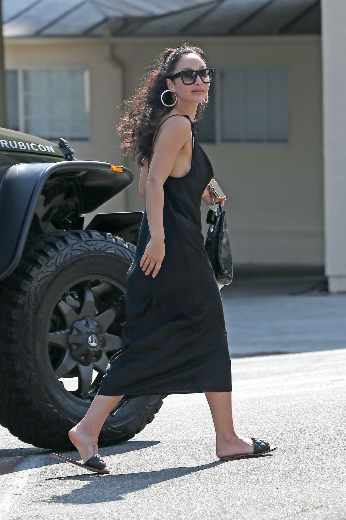 Cara Santana Out About Los Angeles