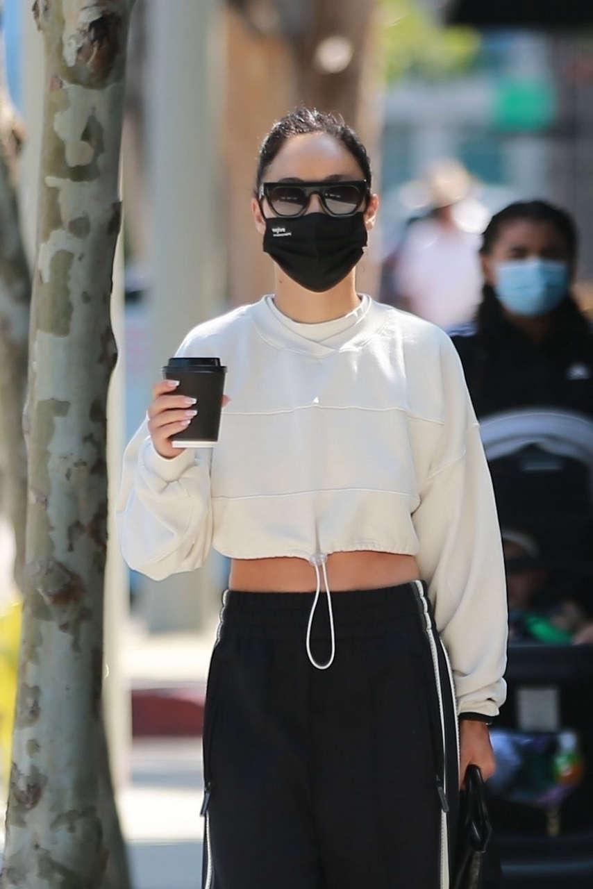 Cara Santana Out Morning Coffee West Hollywood
