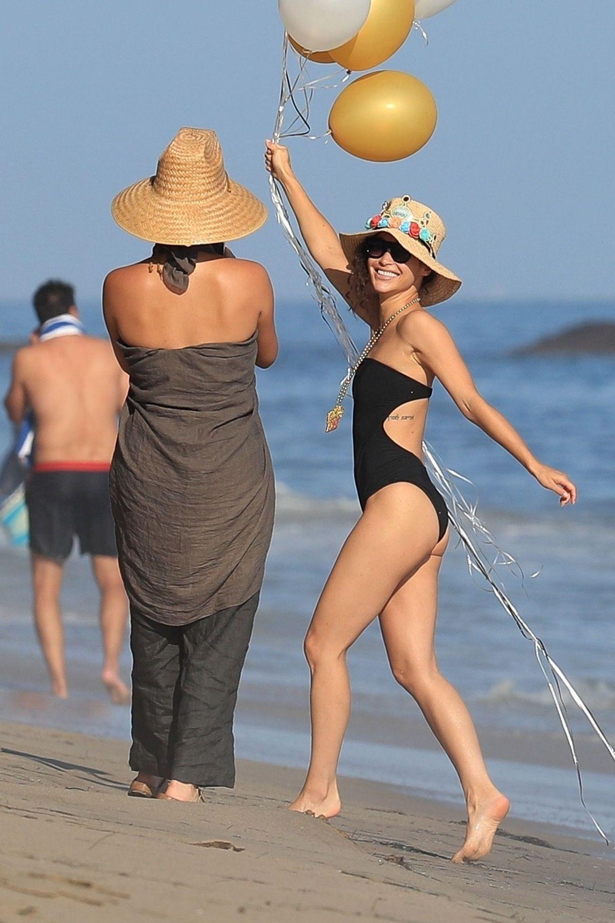 Cara Santana Swimsuit Her Birthday Party Beach Malibu
