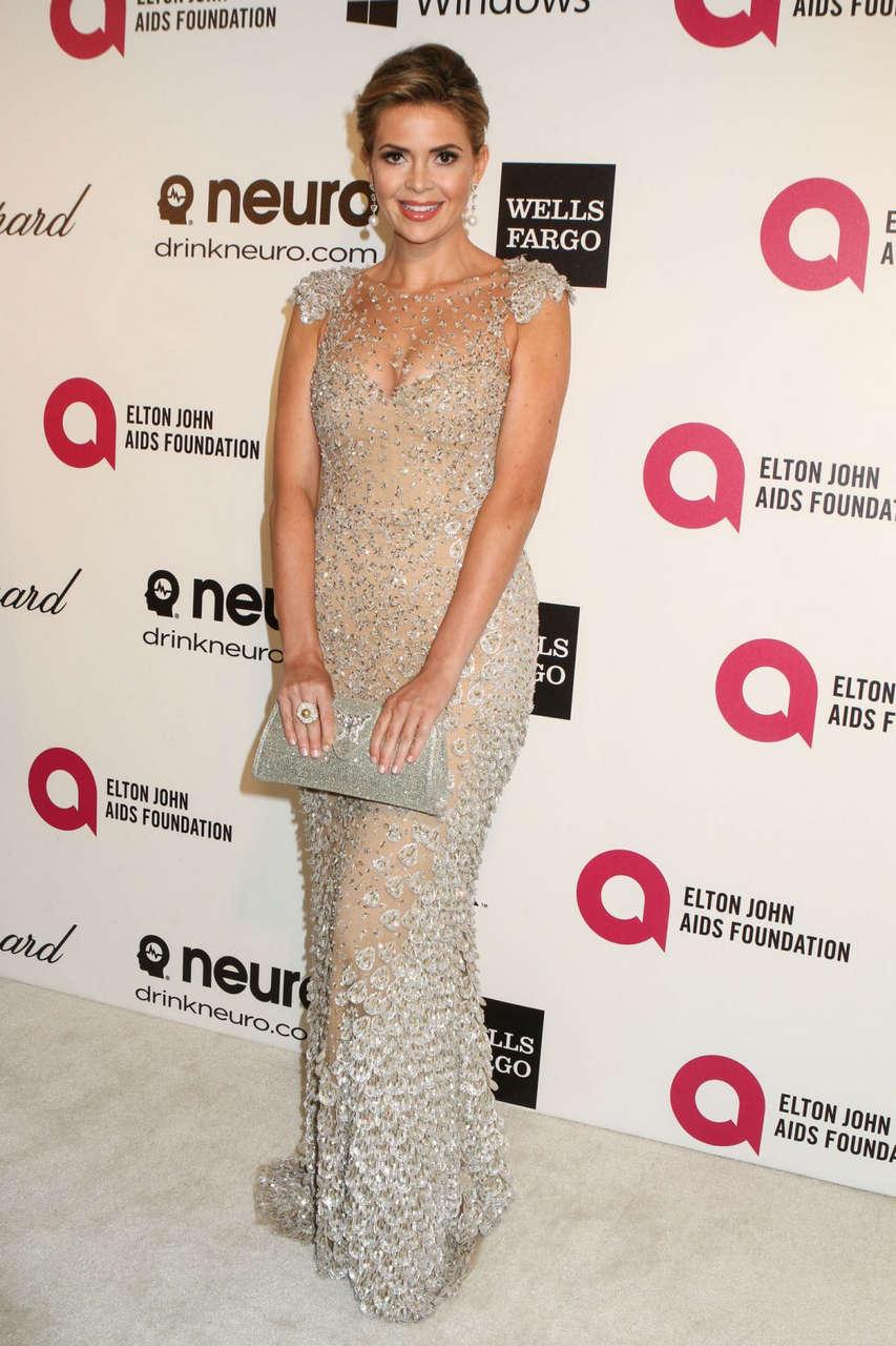 Carly Steel Elton John Aids Foundation Oscar Party Los Angeles