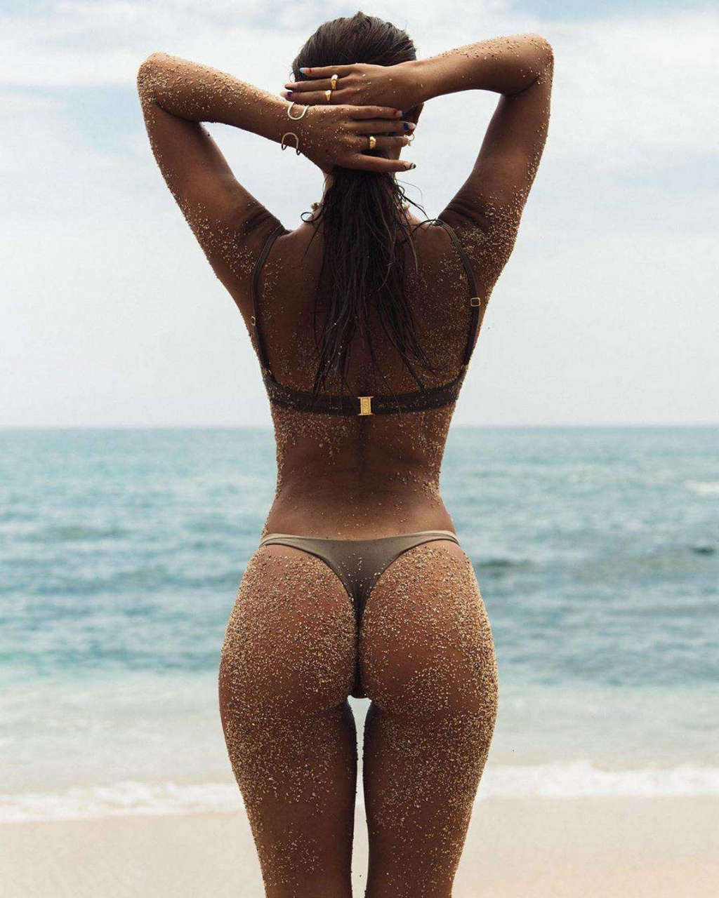 Carmella Rose Bikini Photoshoot Beach