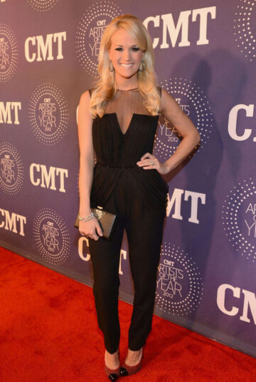 Carrie Underwood 2012 Cmt Artists Year Franklin