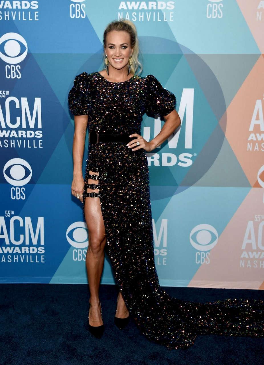 Carrie Underwood 2020 Acm Awards Nashville