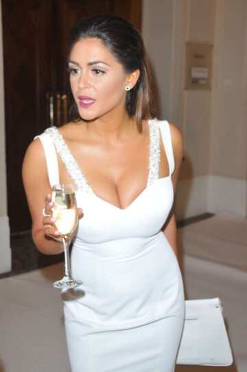 Casey Batchelor Beauty Industry London White Party 2016 Covent Garden