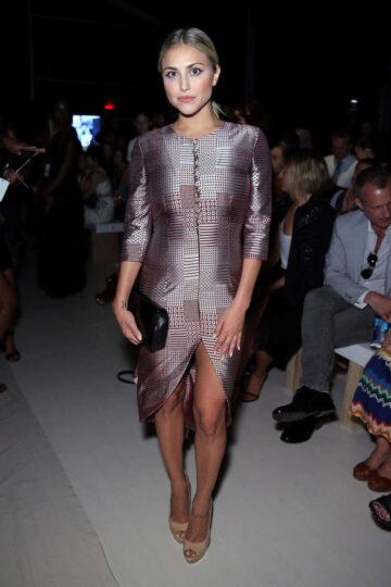 Cassie Scerbo Francesca Liberatore Fashion Show New York