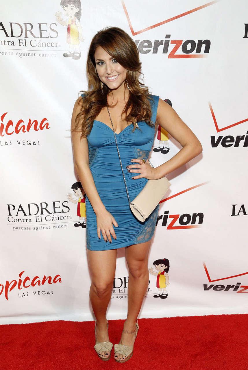 Cassie Scerbo Padres Contra El Cancer Gala Las Vegas