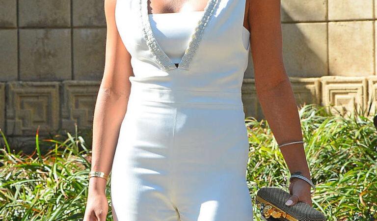 Cassie Ventura M A C Cosmetics Zac Posen Luncheon Los Angeles (6 photos)