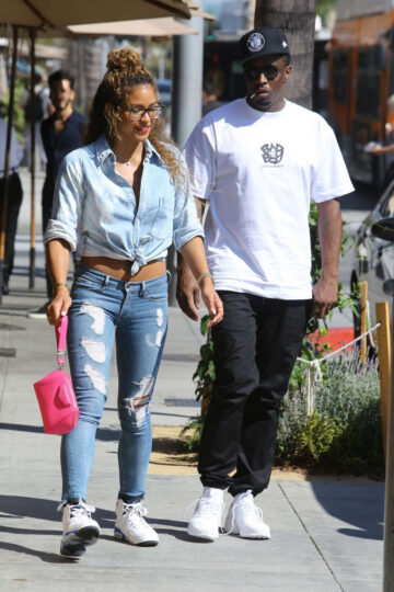 Cassie Ventura P Diddy Out Beverly Hills July