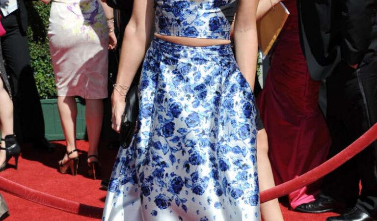 Cat Deeley 2014 Creative Arts Emmy Awards Los Angeles (5 photos)