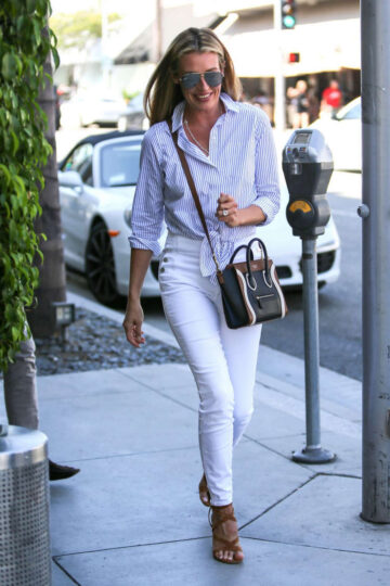 Cat Deeley Leaves Lunch Beverly Hills
