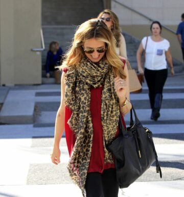 Cat Deeley Out About Beverly Hills