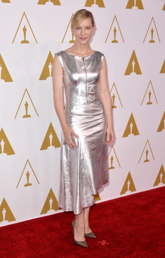 Cate Blanchett 2014 Academy Awards Nominees Luncheon Beverly Hills