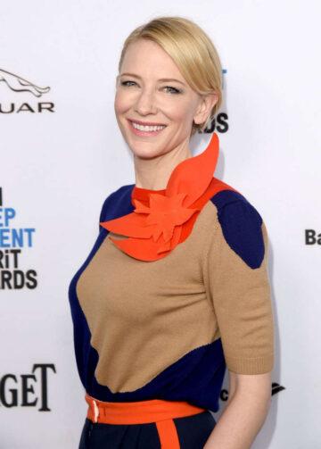 Cate Blanchett 2016 Film Independent Filmmaker Grant Spirit Award Nominees Brunch West Hollywood