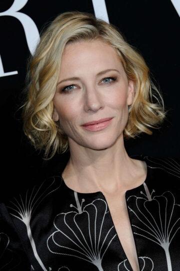 Cate Blanchett Giorgio Armani Fashion Show Paris