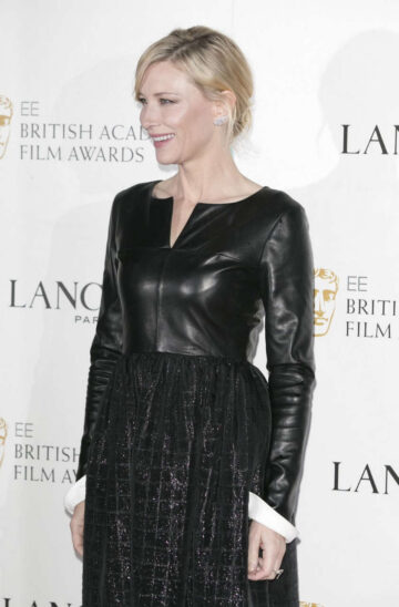 Cate Blanchett Lancome Bafta Nominees Party London