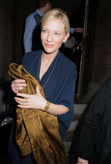 Cate Blanchett Leaves Her Play Maids New York