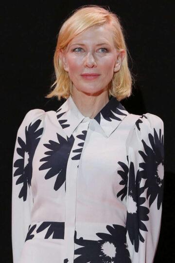 Cate Blanchett Mrs America Screening Campari Boat Cinema Venice Film Festival