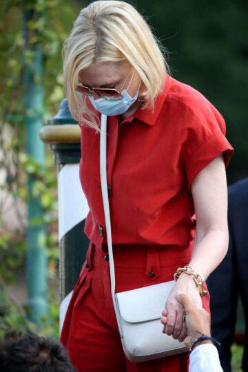 Cate Blanchett Out 2020 Venice Intenrantionalm Film Festival