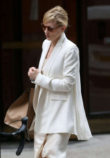 Cate Blanchett Out About New York