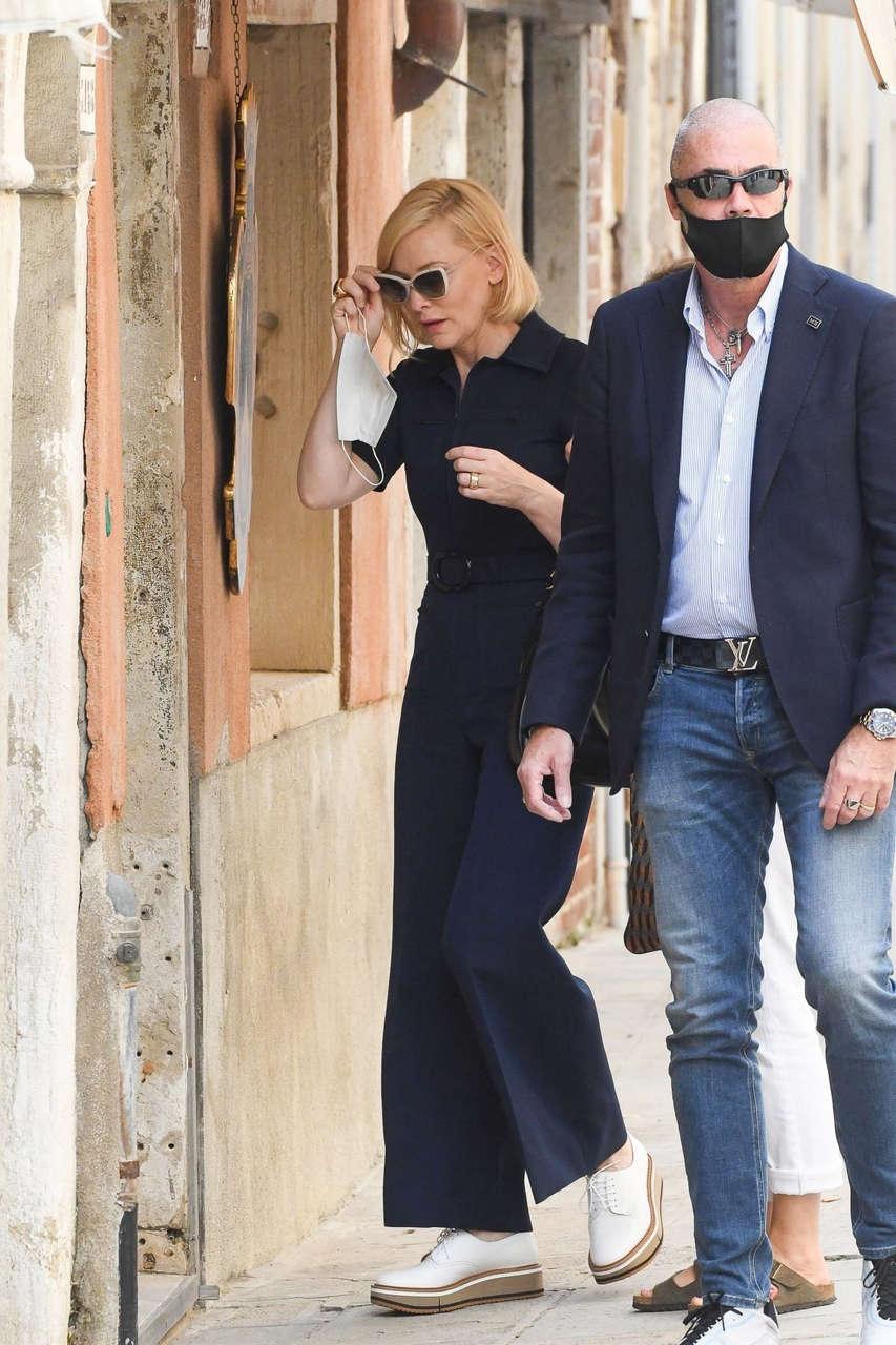 Cate Blanchett Out Venice Film Festival