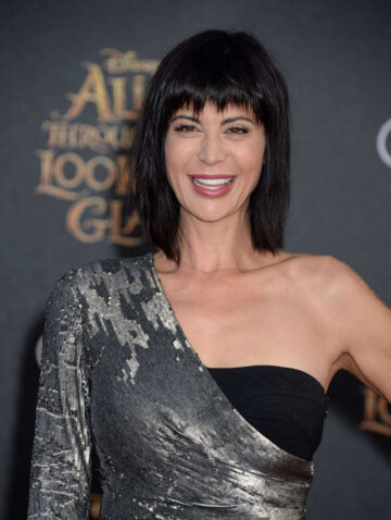 Catherine Bell Alice Through Looking Glass Premiere Hollywood