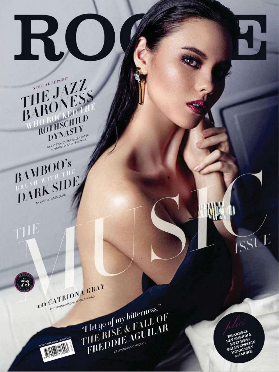 Catriona Gray Rogue Magazine Phillippines January February 2014 Issue