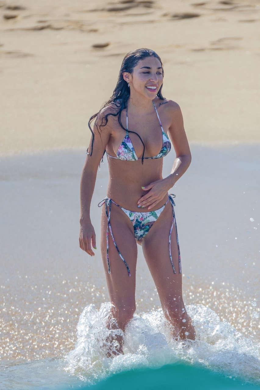 Chantel Jeffries Bikini Beach Cabo San Lucas