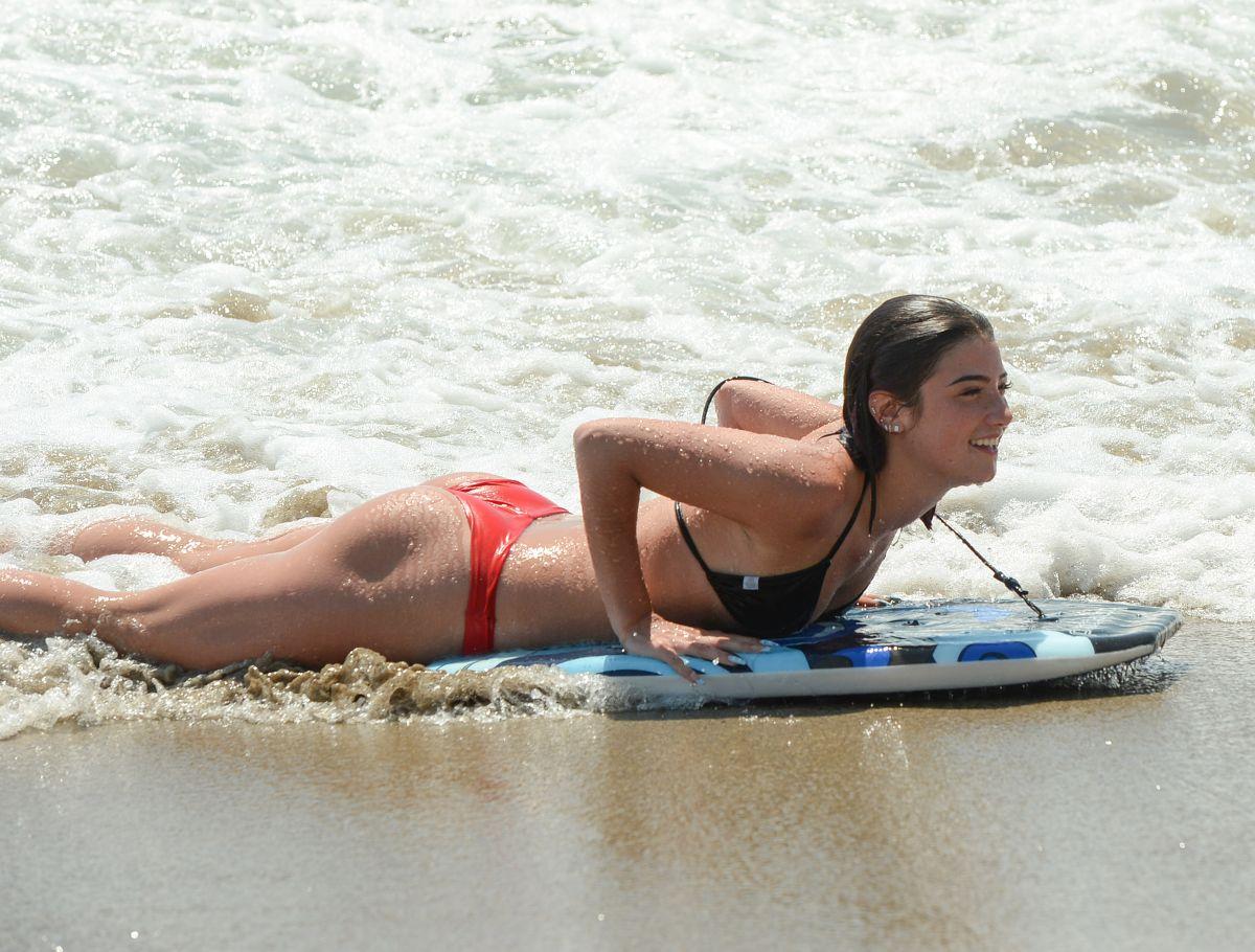 Charli Dixie D Amelio Bikinis Beach Los Angeles