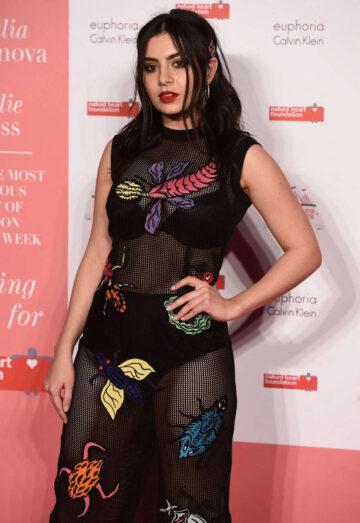 Charli Xcx Naked Heart Foundations Fabulous Fund Fair London