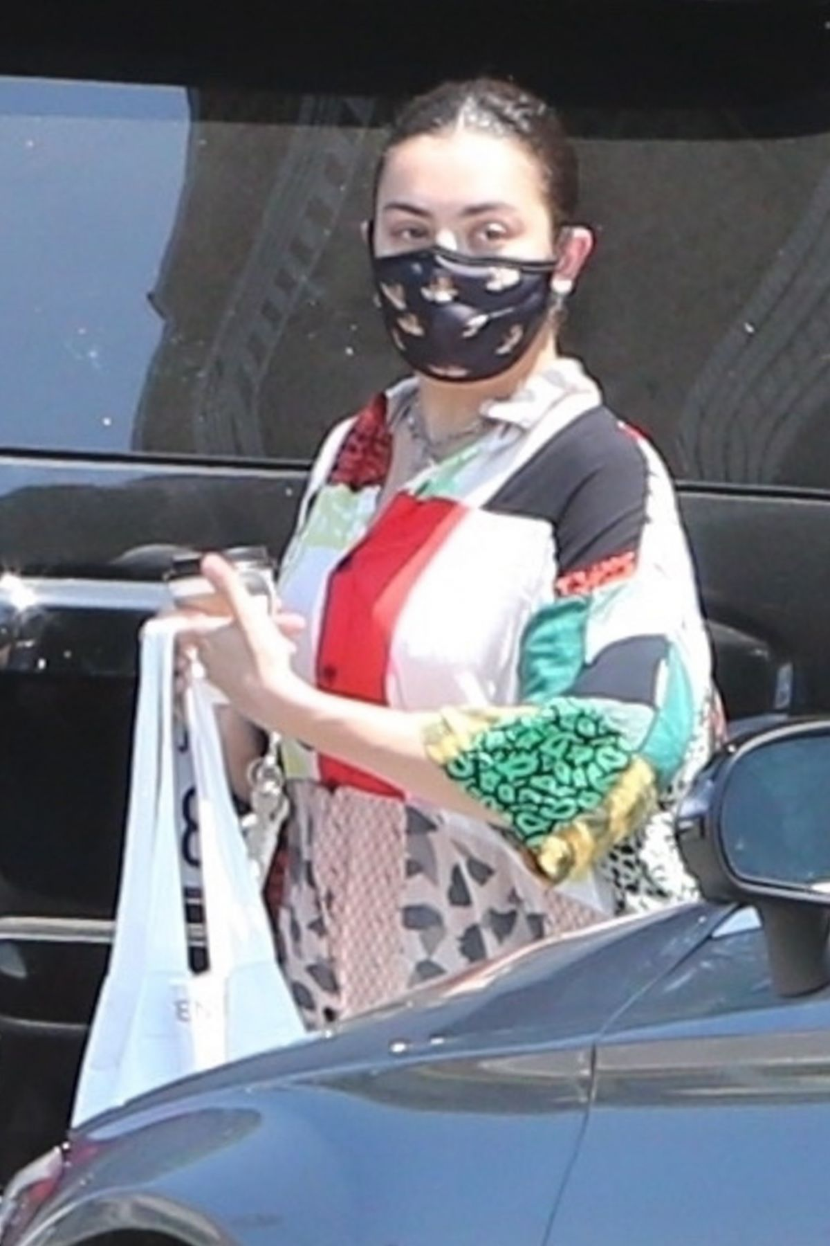 Charli Xcx Out About Los Feliz