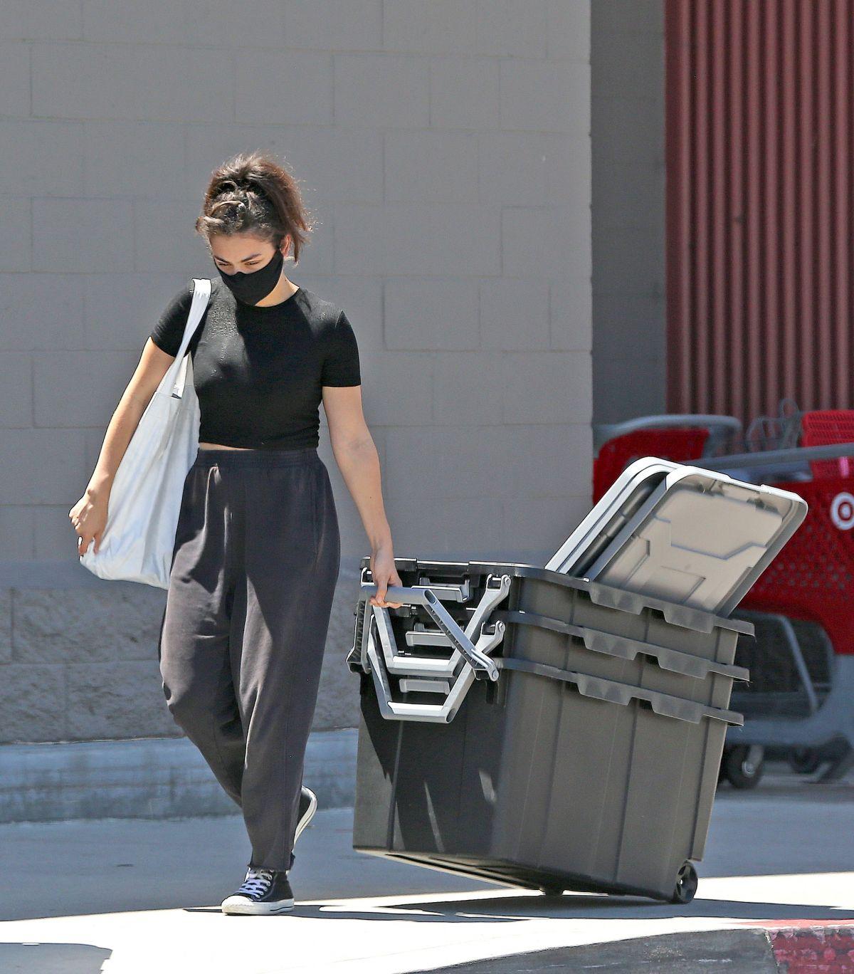 Charli Xcx Shopping Target Los Angeles