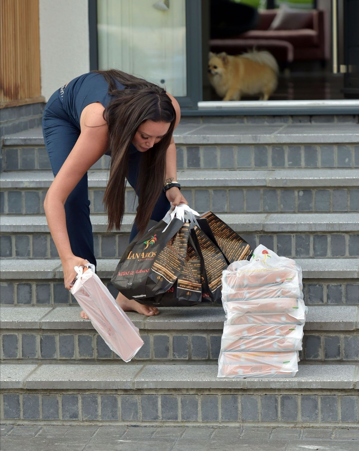 Charlotte Crosby Orders Huge Takeaway Order