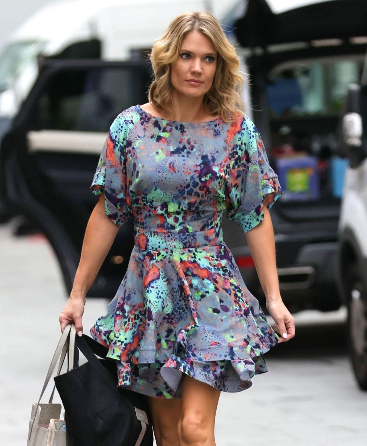 Charlotte Hawkins Arrives Global Radio London