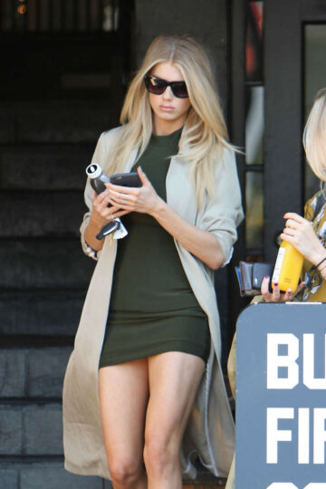 Charlotte Mckinney Out About West Hollywood